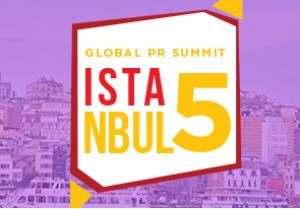 Global PR Summit Istanbul 5-2018