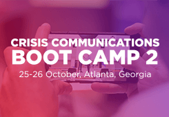 Crisis Communications Boot Camp 2-2018