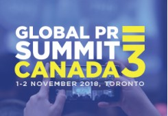 Global PR Summit Canada 3 -2018