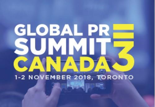 Global PR Summit Canada 3 -2018