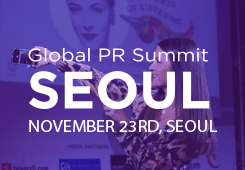 Global PR Summit Seoul-2018