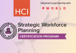 Strategic Workforce Planning Certification Program-2018