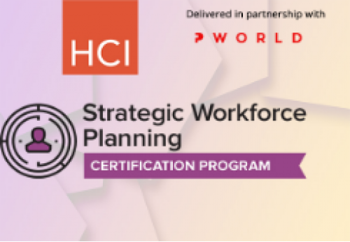 Strategic Workforce Planning Certification Program - Online