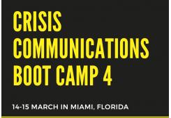 Crisis Communications Boot Camp 4-2019-Miami