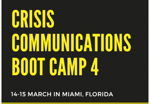Crisis Communications Boot Camp 4-2019-Miami