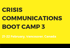 Crisis Communications Boot Camp 3-2019