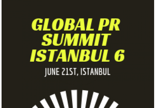 Global PR Summit Istanbul 6-2019