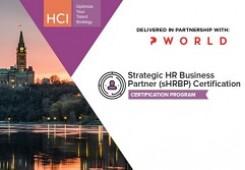 Strategic HR Business Partner (sHRBP) Certification Program Ottawa