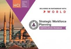 Strategic Workforce Planning Certification Program Istanbul