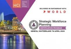 Strategic Workforce Planning Certification Program Geneva