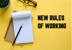 NEW RULES OF WORKING, 30 september