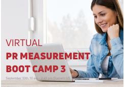 (Virtual) PR Measurement Boot Camp 3