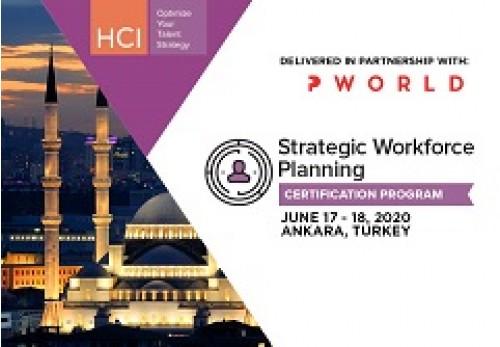 Strategic Workforce Planning Certification Program Ankara