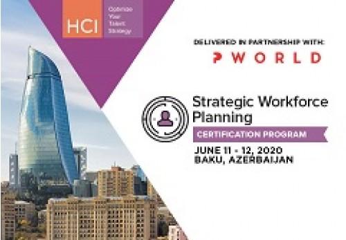 Strategic Workforce Planning Certification Program Baku