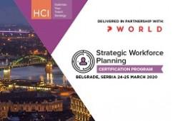 Strategic Workforce Planning Certification Program Belgrade
