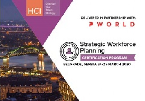 Strategic Workforce Planning Certification Program Belgrade
