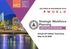 Strategic Workforce Planning Certification Program-Virtual CET Edition Time Zone - Online
