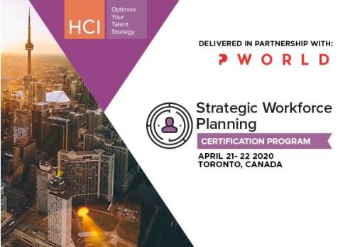 Strategic Workforce Planning Certification Program SWP Toronto