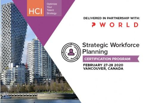 Strategic Workforce Planning Certification Program SWP Vancouver