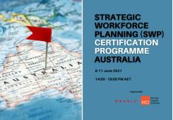 Strategic Workforce Planning Virtual Edition Australia, June 8-11 2021