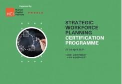 Strategic Workforce Planning Virtual Edition 27-30 April 2021