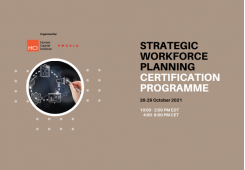 Strategic Workforce Planning Virtual Edition 26-29 October 2021