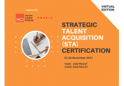 Virtual Strategic Talent Acquisition (STA) Certification November 2021