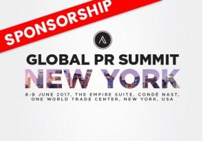 Global PR Summit New York-Sponsorship-2017