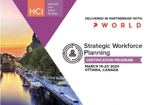 Strategic Workforce Planning Certification Program Ottawa