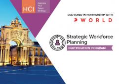 Strategic Workforce Planning Certification Program Lisbon
