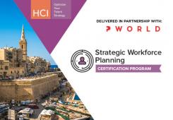 Strategic Workforce Planning Certification Program Malta