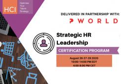 Virtual Strategic HR Leadership (SHRL)