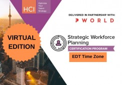 Strategic Workforce Planning Certification Program-Virtual Edition EDT Time